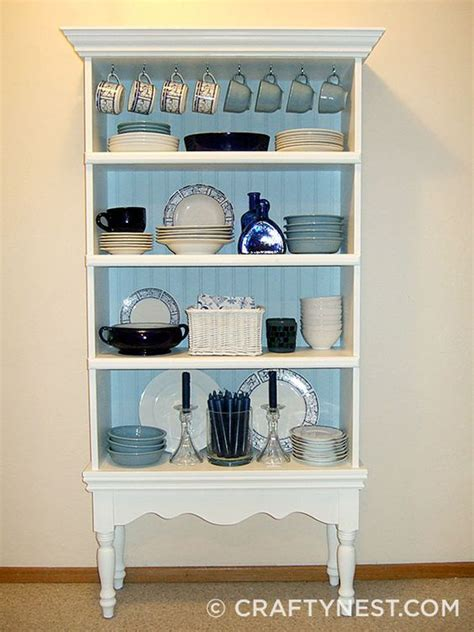diy turn bookcase into china cabinet savvy solution for