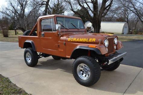 scrambler jeep years 1983 jeep cj 8 scrambler cj 5 cj 7 renegade laredo for