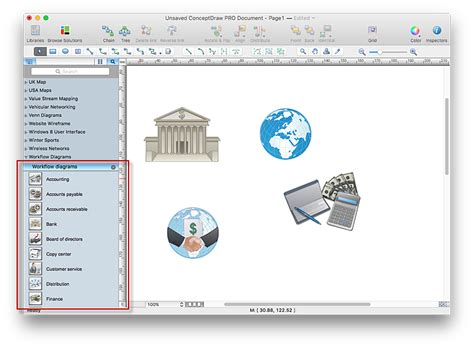 how to create a workflow create visio workflow diagram conceptdraw helpdesk