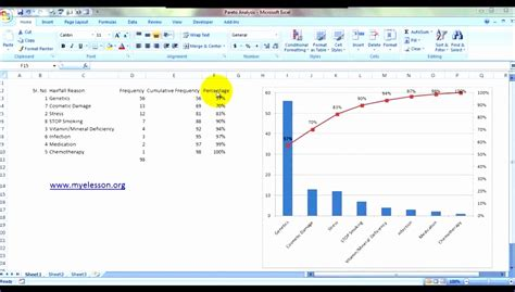 pareto analysis in excel template pareto analysis in excel template evegj cost
