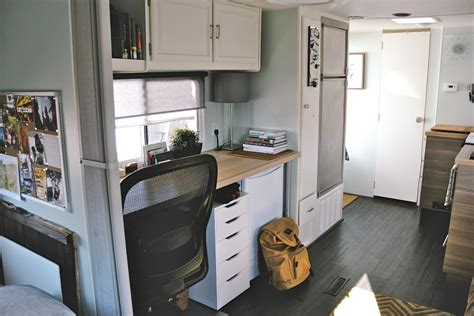 renovated rv image gallery interior travel trailer renovation