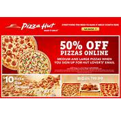Coupons Free Pizza Hut Or Codes Online 7 And