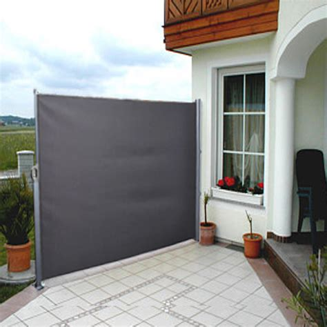 awning screen panels side awning blind patio garden balcony terrace sunshade