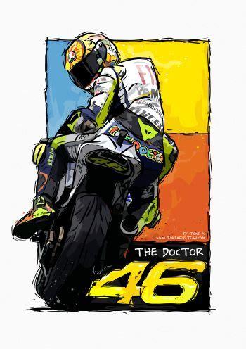 Poster Pop Kayu Valentino Vr46 444 best motogp images on motogp motorcycle