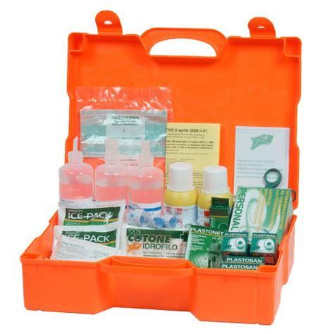 cassetta pronto soccorso scout valigetta pronto soccorso 3 persone pvs plastica 46x34