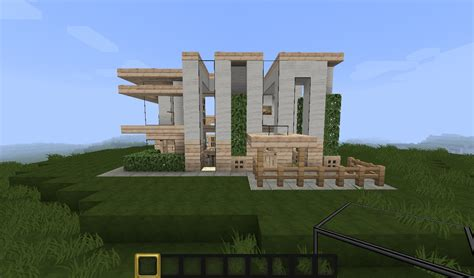 Cabin Designs Plans by Minecraft Small Modern House Minecraft Project