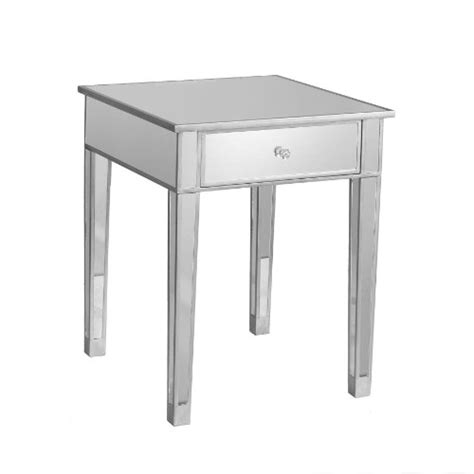 discount accent tables gt cheap sei mirage mirrored accent table home