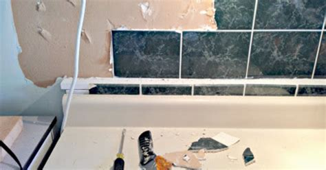 faux metal backsplash panels faux tin ceiling tiles to the rescue hometalk