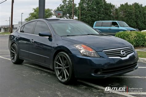 nissan altima custom rims nissan altima custom wheels tsw bathurst 20x et tire