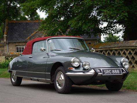 Citroen Ds 21 by Citroen Ds 21 Decapotable 1965 1968