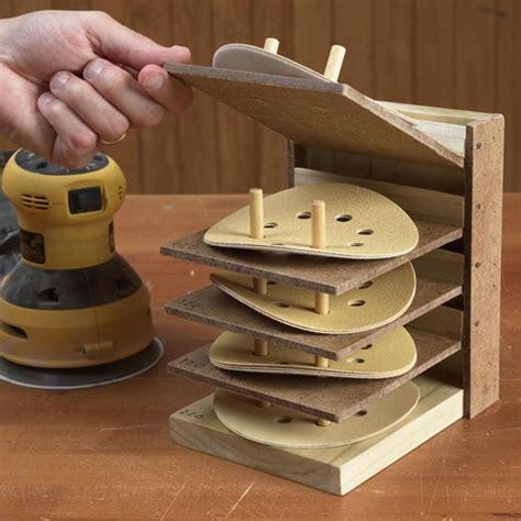 flip  sanding disc caddy woodworking plan workshop