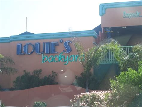 Louie S Backyard Spi by Louie S Backyard 94 Photos Diners South Padre Island Tx Reviews Menu Yelp