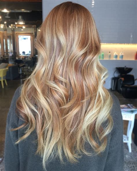 balayage pics strawberry blonde balayage on brown hair www pixshark