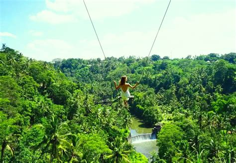 swing bali 6 a swing ride at ayung river zen hideaway an