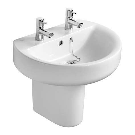 ideal standard sink product details e7839 semi pedestal ideal standard