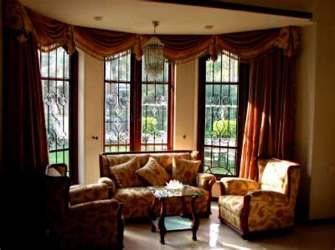 bay window curtains ideas valances for kitchen windows window curtains for bay