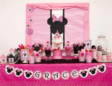 Best  Ee  Minnie Mouse Birthday Party Ideas Ee    Ee  Birthday Ee   Inspire
