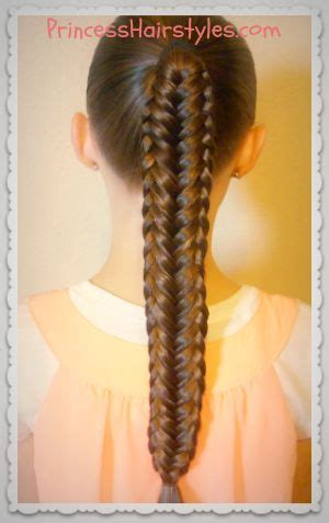 Twisted With An Edge braiding tutorial twisted edge fishtail princess