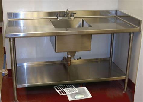 Restaurant Kitchen Sinks Floor Sink Defender Eliminate Fruit Flies Odors And Grease Buildup