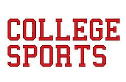 college font design college sports by fireside threads home format fonts on