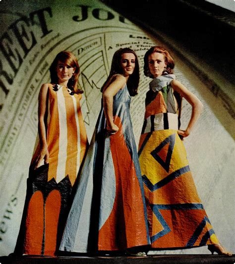 In The 60s Essay by Gilded Gypsies 60 S Pop Culture The Paper Dress