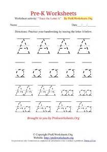 pre k worksheets alphabet tracing pre k worksheets org