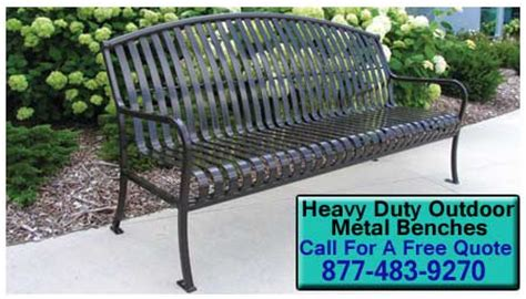 heavy duty outdoor benches heavy duty outdoor metal benches