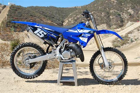 Gas Spontan Yamaha Yz125 Japan premix 2015 yamaha yz125 dirt bike magazine