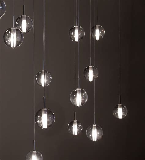 Modern Hanging Lights by Globe Suspensions Modern Lighting By Premiere