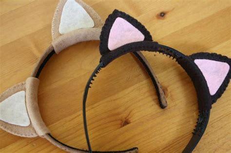 How To Make Cat Ears Headband Paper - easy cat ears a desert tribute tally s