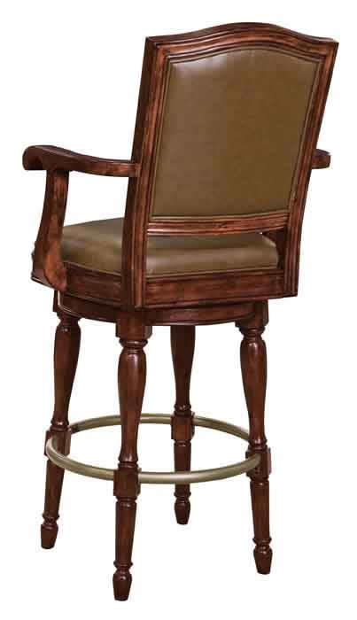 howard miller bar stools 697027 howard miller brown distress swivel faux leather