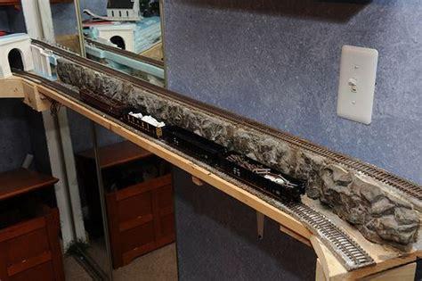model railroad layout design app ho scale shelf train layout rock formations model train