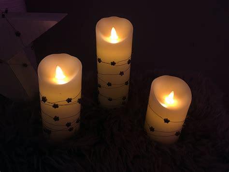 kerzen deko led kerzen modernes licht dekoration de