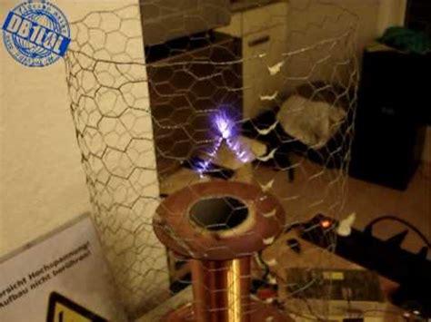 Tesla Coil Sound Plasma Speaker Upgraded Musical Solid State Tesla Coil