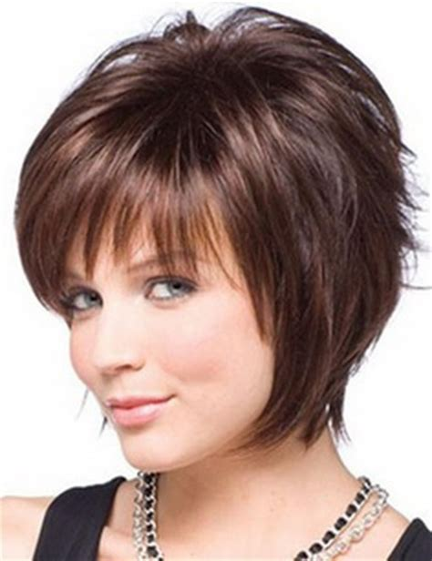 layered hair styles for round face over 50 short layered haircuts for round faces