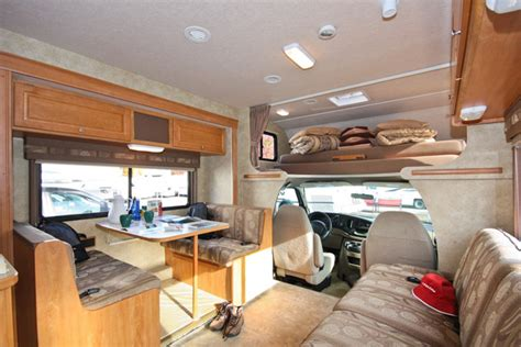 motor home interior c xlarge motorhome rent in vancouver abbotsford
