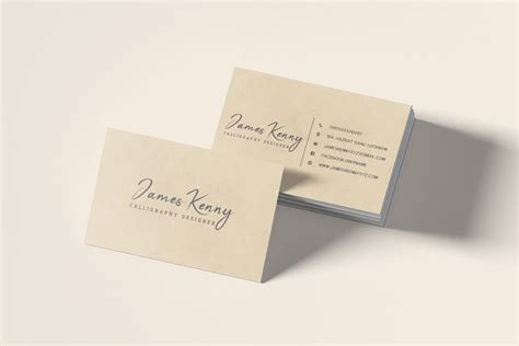 Minimalistic Business Card Template Free by Free Minimal Designer Business Card Template Creativetacos