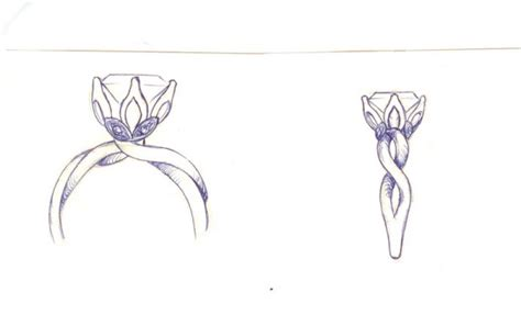 how to draw wedding rings engagement rings design your own ring