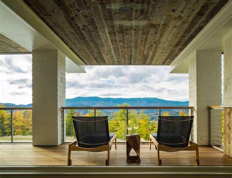 breathtaking rustic balcony designs  killer views