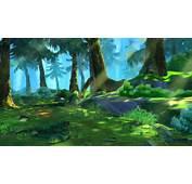 Cartoon Forest Scene 02 3D Model MAX  CGTradercom