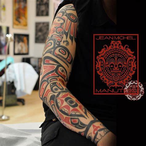 tribal nations tattoo deal haida cerca con