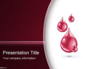 blood ppt templates free blood powerpoint template