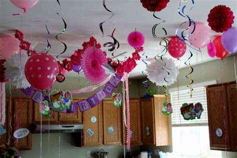 home design bday decoration ideas at home simple