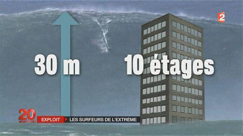 30 in meters vague de 30 metres surfe a quot nazare quot incroyable