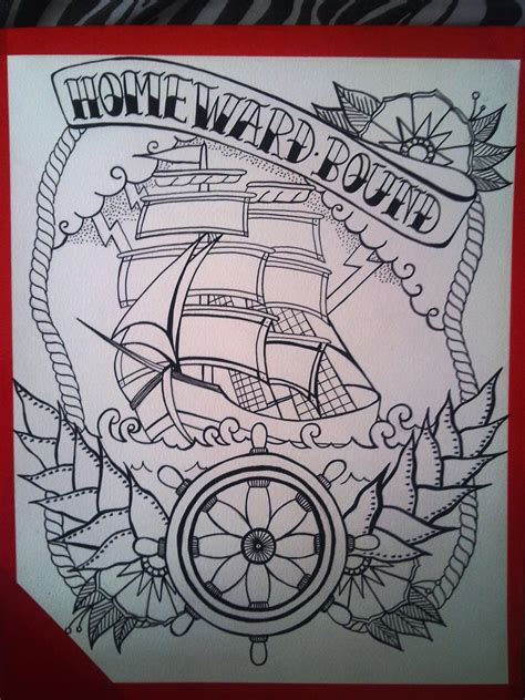 bound by design tattoo homeward bound by shellyztrueheartink on deviantart