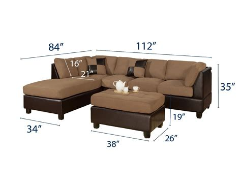 Sectional Sofa Dimensions Pictures : Sectional Sofa the
