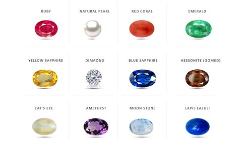 gemstone colors gemstones education guide
