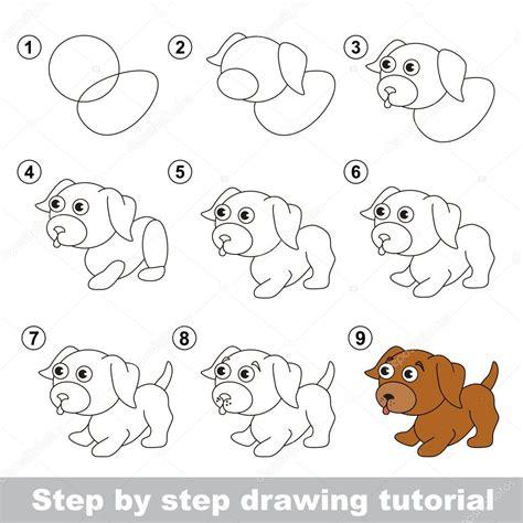 how to make doodle tutorial tekening tutorial hoe teken je een kleine pup