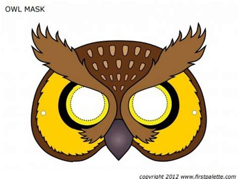 bird mask template printable clipart best