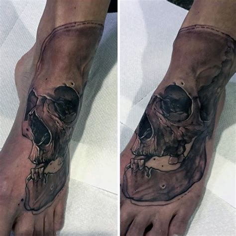 hollow leg tattoo 90 foot tattoos for step into manly design ideas